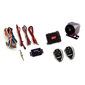 Crimestopper SP-101 Deluxe 1-Way Alarm and Keyless Entry System