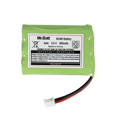 (Mr.Batt 900mAh Replacement Battery for Motorola Baby Monitor MBP33 MBP33S MBP33PU MBP36 MBP36PU)