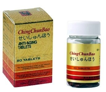 Ching Chun Bao - Antiaging Tablets (80 Tablets X 12 Bottles) by Temple by Temple