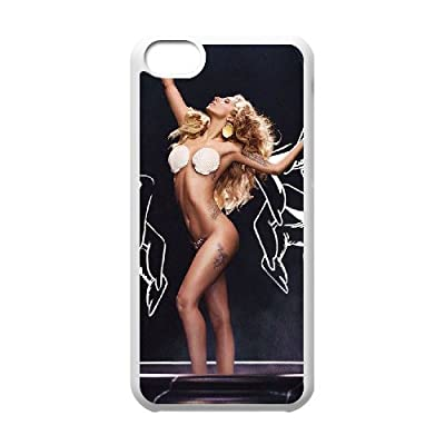 VNCASE Lady Gaga Phone Case For Iphone 5C