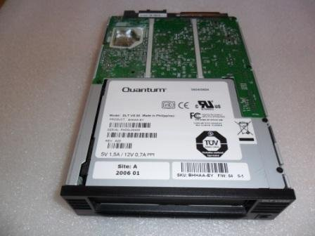 QUANTUM BHHAA-EY DLT VS80 internal 68 pin LVD Tape drive BLACK Quantum BHHAAEY NEW Quantum 40 80GB VS80 5 25 HH SCSI LVD DLT1 DRIVE ()