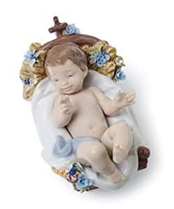 Lladro infant jesus porcelain figurine home kitchen - Consider including lladro porcelain figurines home decoration ...