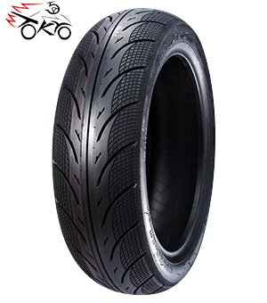 (5A01 3.00-10 Scooter Tubeless Tire, 42J, Front/Rear Motorcycle/Moped 10
