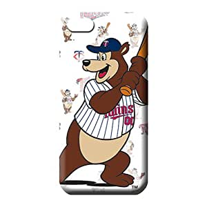 iphone 5 5s Shock-dirt Hard High Grade phone carrying cover skin minnesota twins mlb baseball