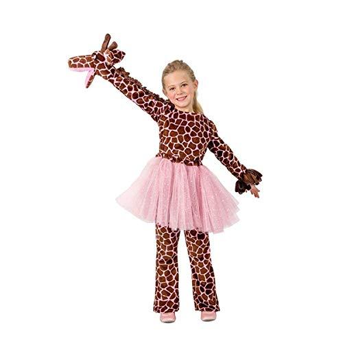 Girls Puppet Giraffe Costume Medium