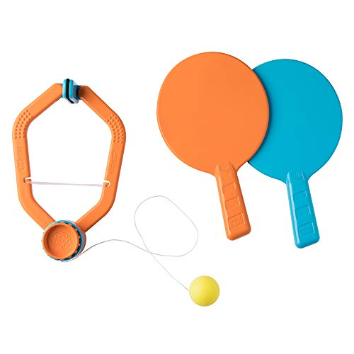 Door Pong is a new indoor sports toy for active kids to get some exercise