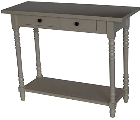 Simple Simplicity Console Table Finish Red