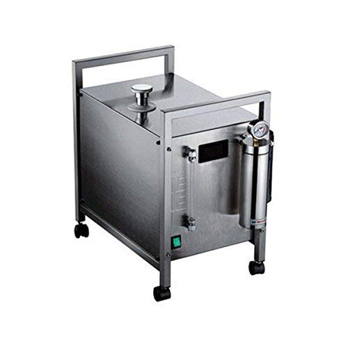 Stainless Steel Hydrogen Generator - 120A 600W 150-160L Stainless Steel Oxygen Hydrogen Flame Generator, Gas Generation with 2 Gas Torch 220V