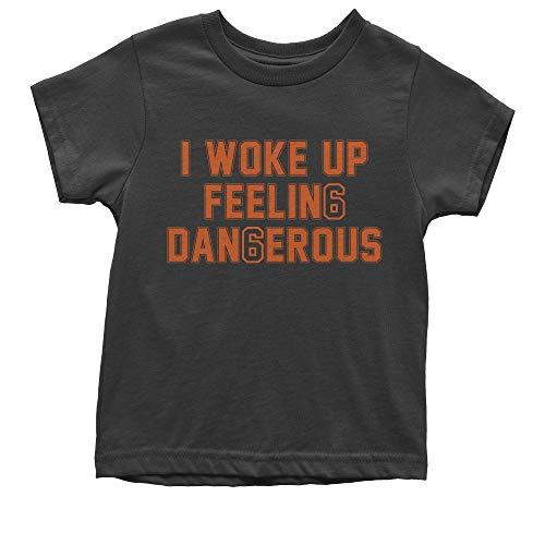 FerociTees Youth I Woke Up Feeling Dangerous Mayfield T-Shirt Large Black