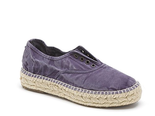 Natural World Eco 687e Scarpe Di Tela Da Donna Sneakers Piatte Sneakers Sneakers Relaxed Size Washed Out 635