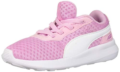 PUMA Baby ST Activate Sneaker, Pale Pink White, 8 M US Toddler ()