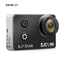 SJCAM SJ7 Star SJ7000 SJ7Star - 4K Action Cam, Action Camera WIFI, Sport Camera (2.0 pollici touch screen, 16MP, touchscreen, sensore Sony, WLAN, HDMI, impermeabile) Cambi di azione sportiva Camera Mini DVR - nero