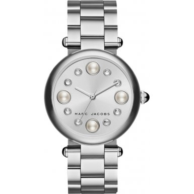 Marc Jacobs MJ3475 Ladies Dotty Silver Steel Bracelet - Buy Jacobs Marc Marc By