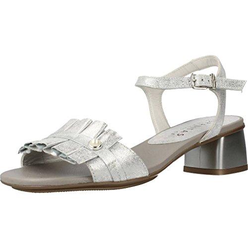 E Marca Le Per Argento Ciabatte In Per Hispanitas v8 Donne Le Sandali Argento Pantofole Modello Sandali Colore Stella E Donne Rw5qn4gBC