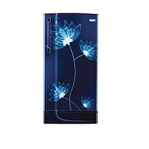 Godrej 205C 33 TAI Glass Direct Cool 3 Star Inverter Refrigerator (Blue, 190 ltrs), Multicolour