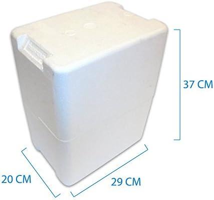 c961d182a7 PZ 2 Contenitore in POLISTIROLO Porta Bottiglie (6 Bottiglie da 0,75) per  IMBALLO di Vino E Olio Scatola PORTABOTTIGLIE