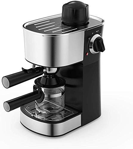 NLRHH Máquina de café Espresso Cafetera con Leche de Espuma de Espuma 5 Bar 240 ml Tray de Goteo extraíble Barista…