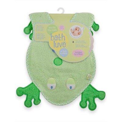 Just Born Bath Luve Towel Color: Green, Health Care Stuffs