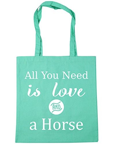 10 Horse Gym Beach Need Shopping Love litres and Tote You Bag x38cm HippoWarehouse 42cm is a All Mint 0wvRFq0Z