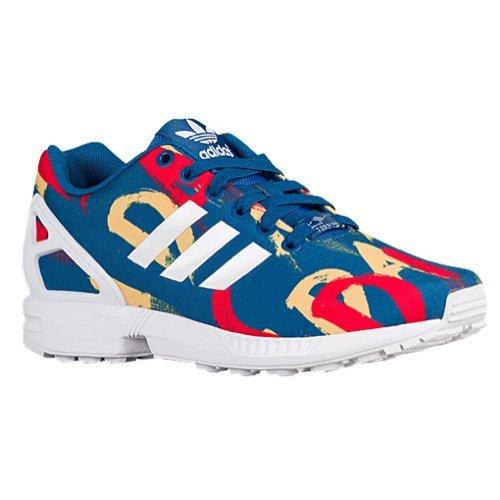 (adidas ZX Flux Women's Shoes Dark Marine Blue/White s77313 (6 B(M) US))