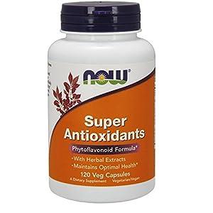 NOW Foods Super Antioxidants, 120 Veg Capsules