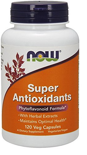 NOW Foods Super Antioxidants, 120 (Nutrition Super Antioxidants)