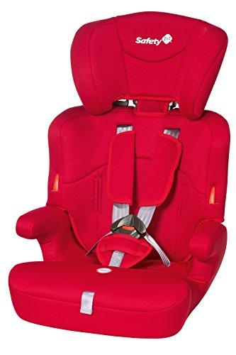 Safety 1st 85127650 - Ever Safe Kindersitz Gruppe 1/2/3, ab circa 12 Monate bis 12 Jahre, full red