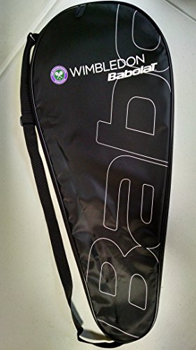 Babolat Wimbledon Edition Tennis Racquet Cover (Holds 1 Adult-Sized Racket)