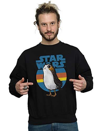 Porg Homme Sweat Jedi Last Star The Noir Wars shirt qBxn567