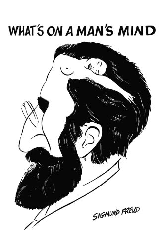 Sigmund Freud - Whats on a Mans Mind Pop Art Print Pop Memorabilia Poster,