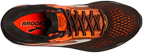 Brooks Men's Adrenaline GTS 18 Running Shoes Blu (Black/Orange/Ebony 047) nB6s6v