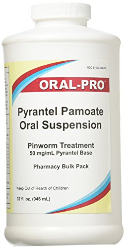 - Oral Pro Pyrantel Pamoate Oral Suspension 50mg/mL 32 ounce