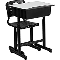 2 Piece Student Desk and Chair Set [Set of 2]