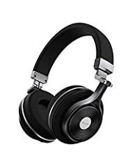 T3 , the latest Bluetooth headphones of Turbine Series, is designed and created by our professional Bluedio team. Compared with T2, it has a number of major upgrade: Zn alloy frame and body ensures it's sturdy enough to be unbreakable and dur...