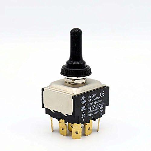 Doble Tirar On//On Mini Interruptor de un polo de Doble Tirar Nuevo solo pole Nuevo 10 un