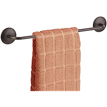 MDesign AFFIXX Peel And Stick Strong Self Adhesive Kitchen Dish Towel Holder  Bar