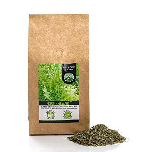 Te de cola de caballo (250g), hierba de cola de caballo cortada, suavemente seca, 100% pura y natural para la preparacion de te, te de hierbas