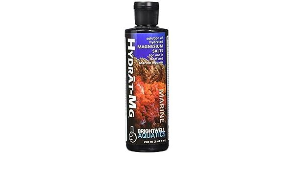 Brightwell Aquatics abahmg250 hidratado Solución de sal de magnesio acondicionadores de agua para acuario, 8.5-ounce: Amazon.es: Productos para mascotas