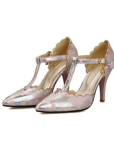 tacones uk6 rosa vestito us8 eu39 n Fiesta uk stiletto noche boda microfibra tacones cn39 Blu di 38 Beige ¨ Rosa EU ® Scarpe tac negro ZQ mujer w8gPqHW