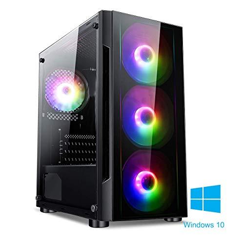 PALICOMP INTEL Gaming PC INTEL i5 9400F 2.9Ghz Turbo 4.1Ghz Quad Core – 16GB DDR4 RAM – 240GB SSD – 1TB Sata3 HDD…