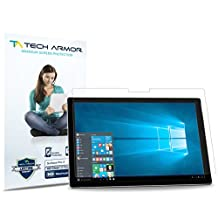 Tech Armor Microsoft Surface Pro (2017) and Surface Pro 4, High Definition HD-Clear Film Screen Protector [2-Pack]
