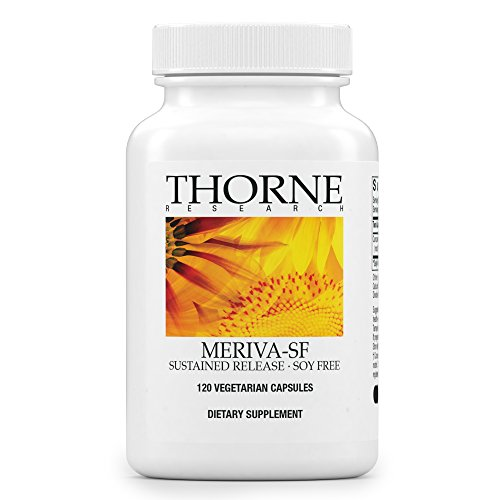 Thorne Research - Meriva SF (Soy Free) - Sustained-Released Curcumin Phytosome Supplement - 120 Capsules Mineral Supplement 120 Capsules