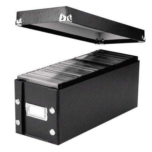 Snap-N-Store SNS01521 Media Storage Box, Holds 60 Slim/30 Standard Cases