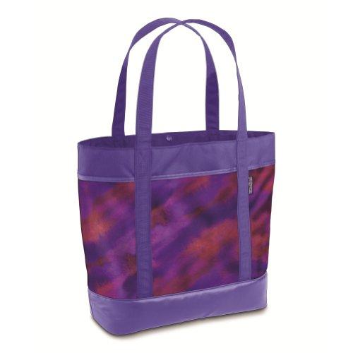 Emma Tote Bag - JanSport Emma Tote Bag (Purple Sky/Multi Watercolor)