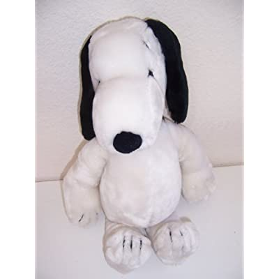 Vintage PEANUTS SNOOPY LARGE 18 Plush (1968) by Determined: Toys & Games
