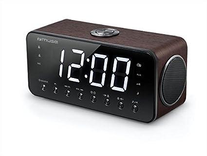 Muse M-192 DW - Radio (Reloj, Digital, FM, 87,