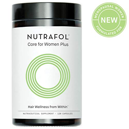 Hair Loss Thinning Supplement - Women Hair Vitamin for Thicker Healthier Hair Growth - Nutrafol Core for Women Plus for Menopause Support