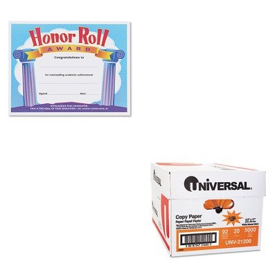 KITTEPT2959UNV21200 - Value Kit - Trend Honor Roll Award Certificates (TEPT2959) and Universal Copy Paper (UNV21200)