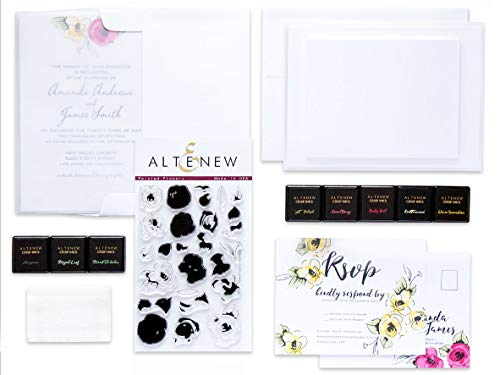 Altenew Celebrations Stamping Kit - for Wedding Invitations, Birthdays, and Other Special Occasions]()