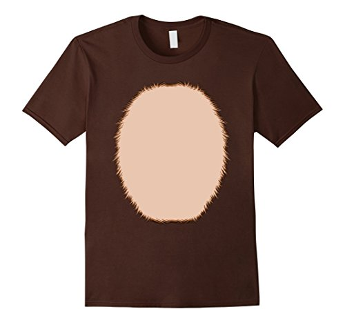 [Mens Reindeer Costume DIY T Shirt Small Brown] (Bunny Costume Diy)